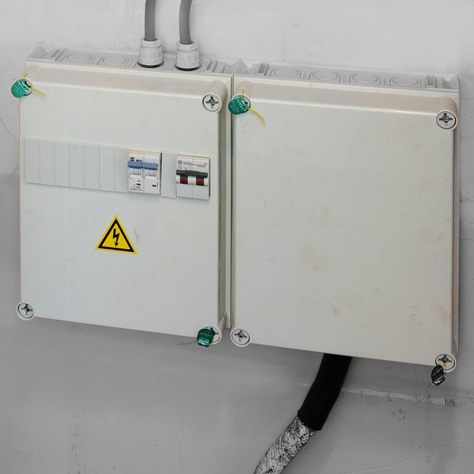 Algemene beveiliging van uw elektriciteitsmeter